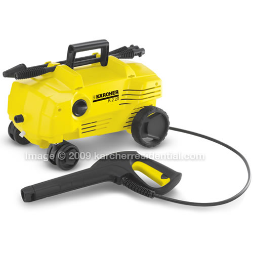 Electric Karcher Follow Me Pressure Washer