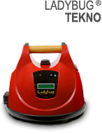 Ladybug Steam Cleaner Tekno 2350